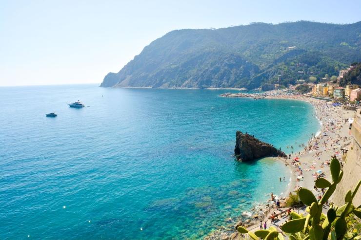 Spiaggia di Fegina a Monterosso