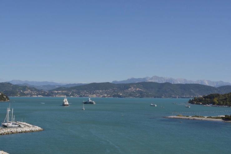 Mar visto desde Portovenere